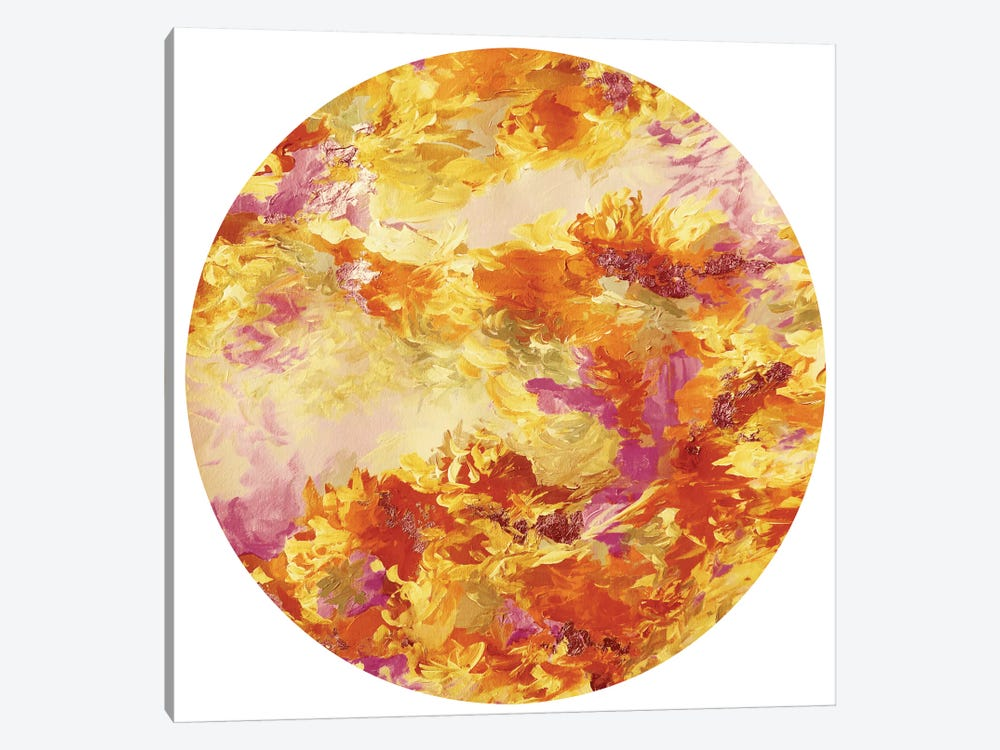 Mermaid Circle I by Julia Di Sano 1-piece Canvas Wall Art