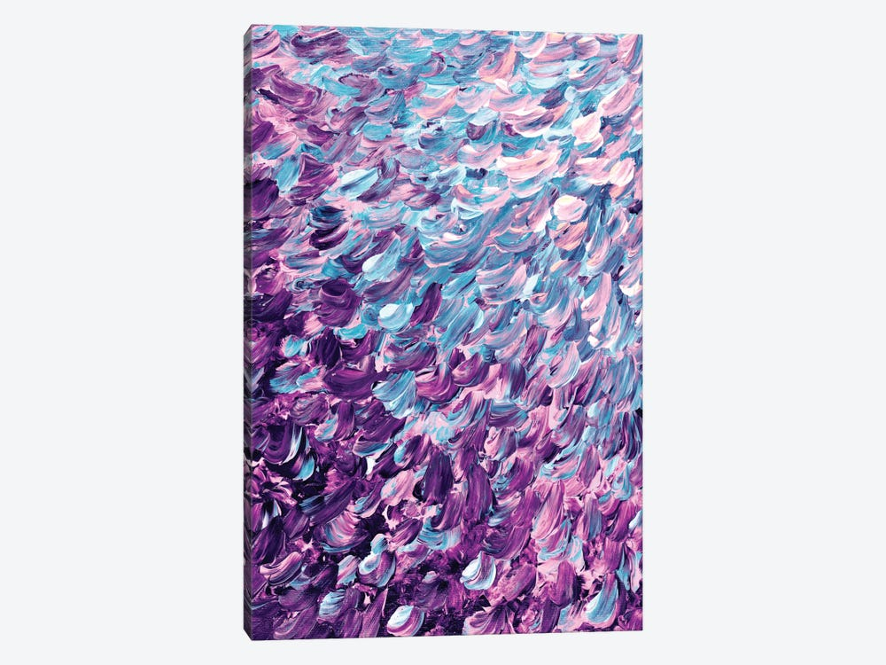 Frosted Feathers I by Julia Di Sano 1-piece Canvas Art