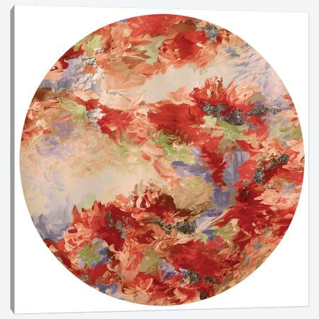Mermaid Circle III Canvas Print #JDS121} by Julia Di Sano Canvas Print