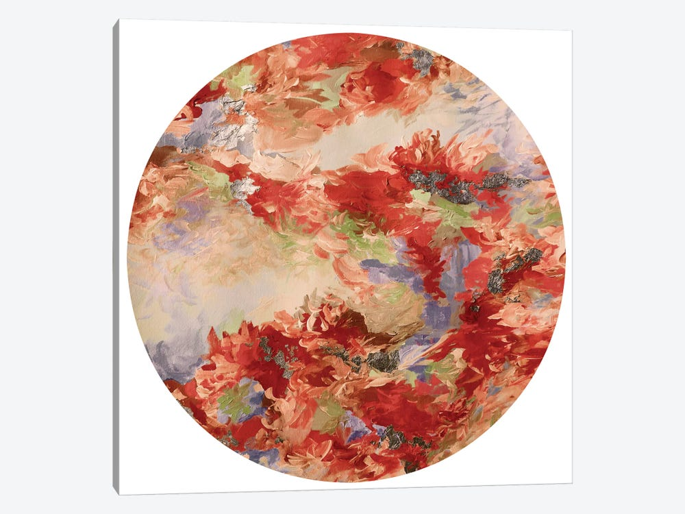 Mermaid Circle III by Julia Di Sano 1-piece Canvas Art Print