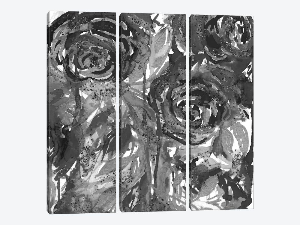 Midnight Garden by Julia Di Sano 3-piece Canvas Artwork