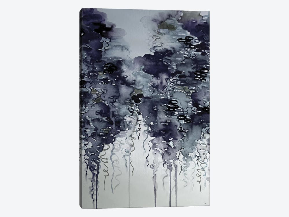 Midnight Showers by Julia Di Sano 1-piece Canvas Print