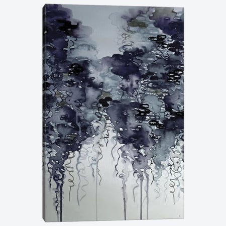 Midnight Showers Canvas Print #JDS123} by Julia Di Sano Canvas Art Print