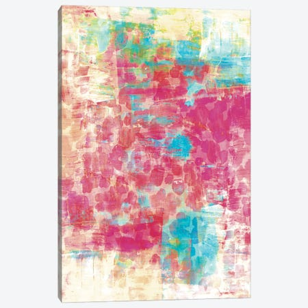 Pastel Jungle IV Canvas Print #JDS126} by Julia Di Sano Canvas Art