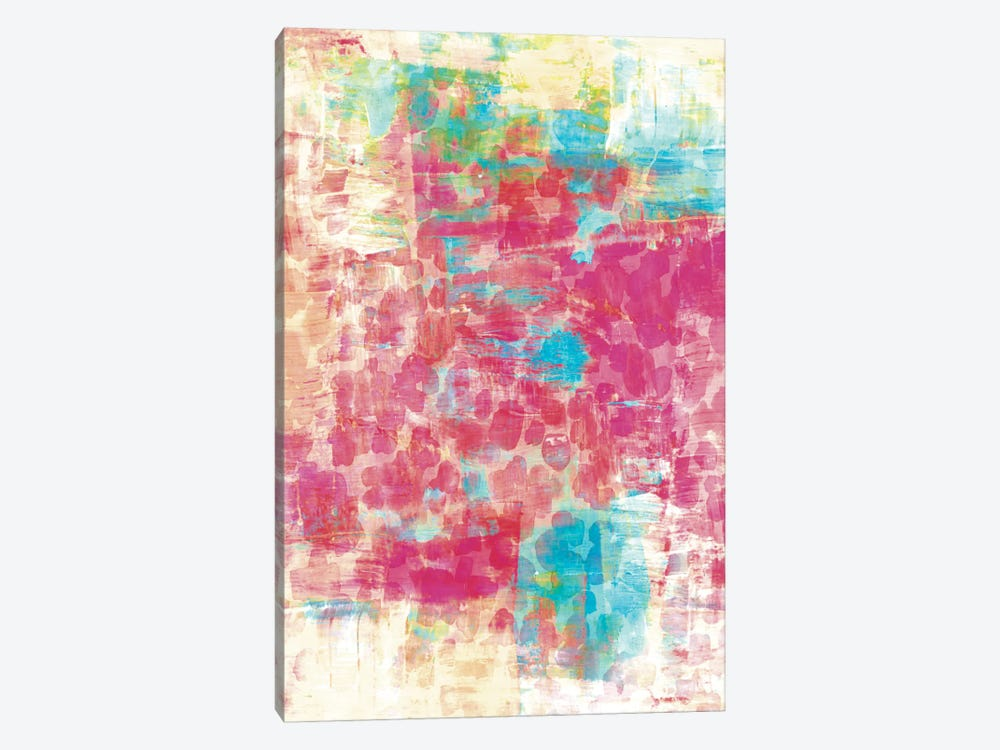 Pastel Jungle IV 1-piece Canvas Wall Art
