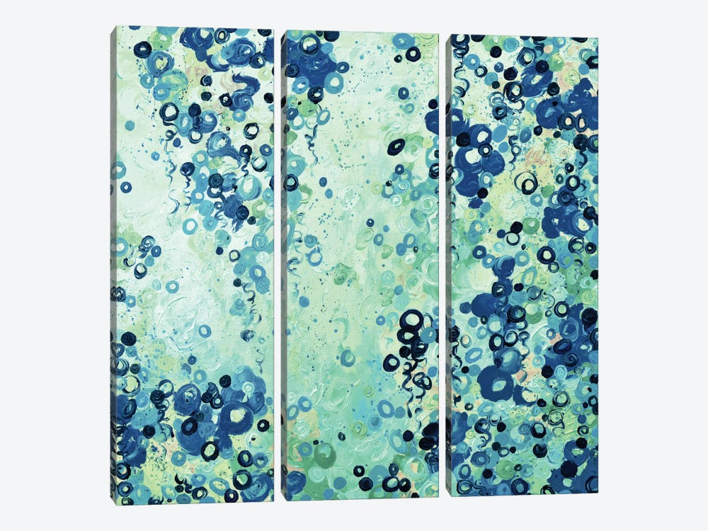 Submerged II 3-piece Canvas Wall Art