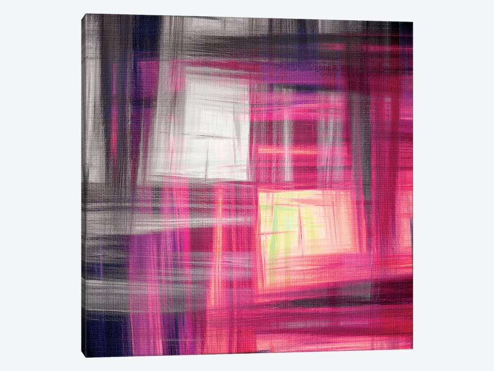 Tartan Crosshatch I by Julia Di Sano 1-piece Canvas Art Print