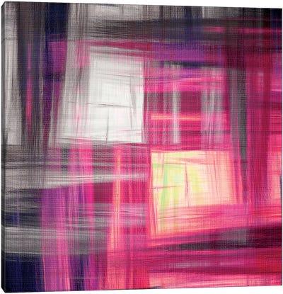 Tartan Crosshatch I Canvas Art Print