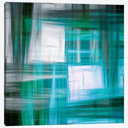 Tartan Crosshatch III Canvas Print #JDS131} by Julia Di Sano Canvas Wall Art