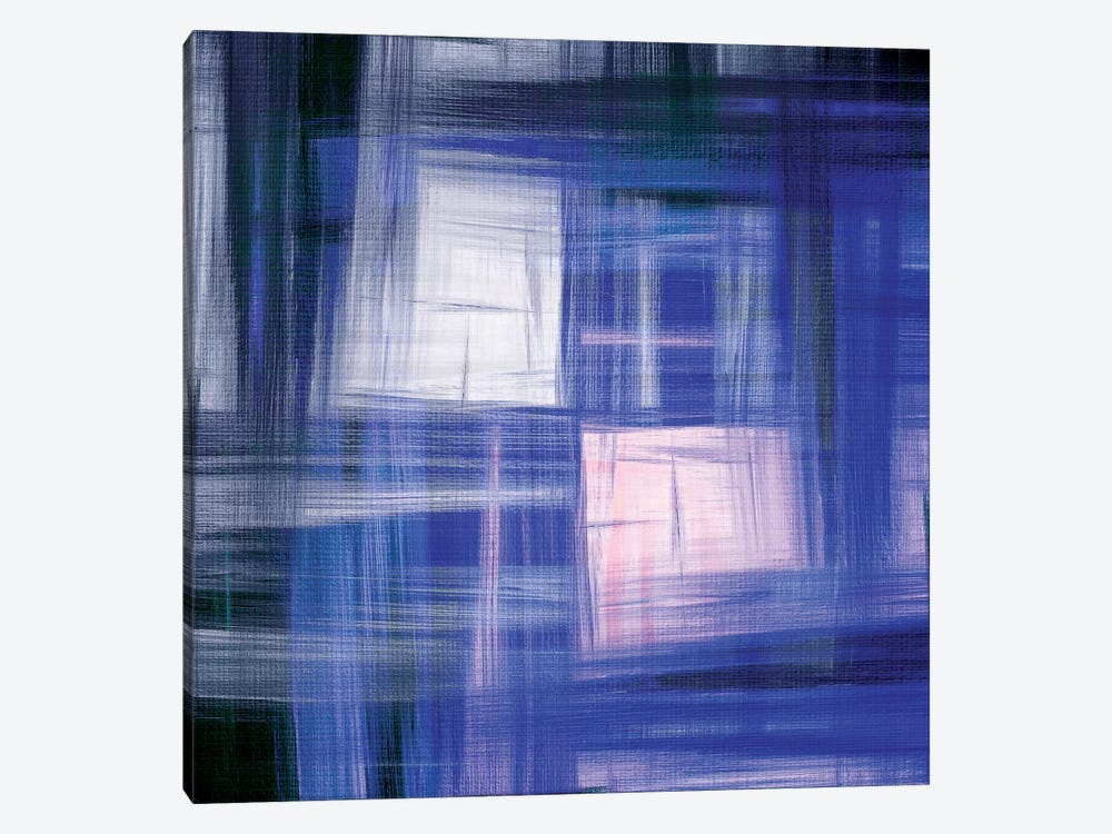 Tartan Crosshatch IV by Julia Di Sano 1-piece Art Print