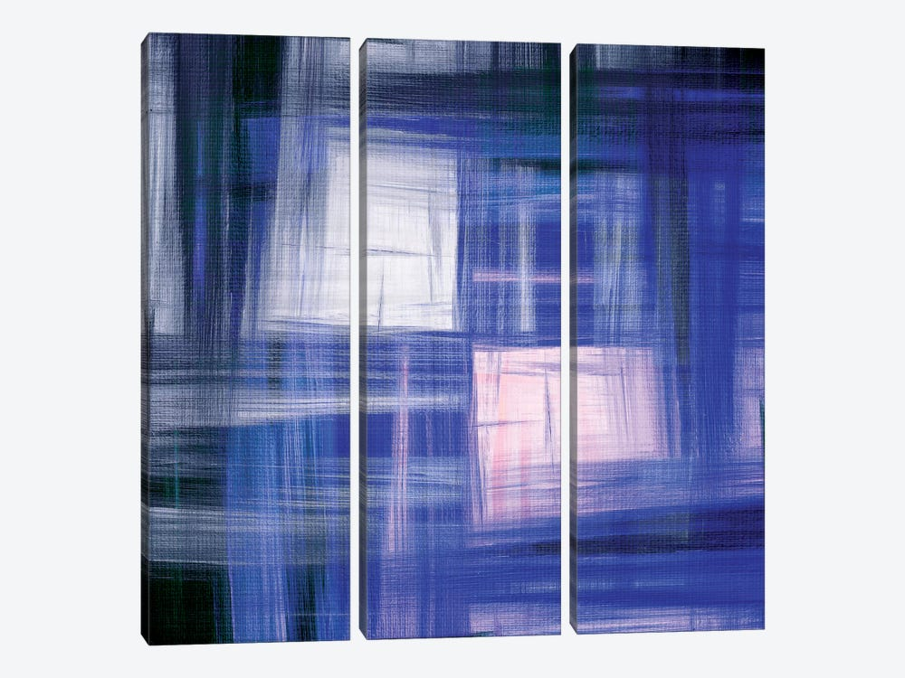 Tartan Crosshatch IV by Julia Di Sano 3-piece Art Print