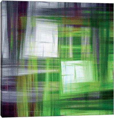 Tartan Crosshatch V Canvas Art Print