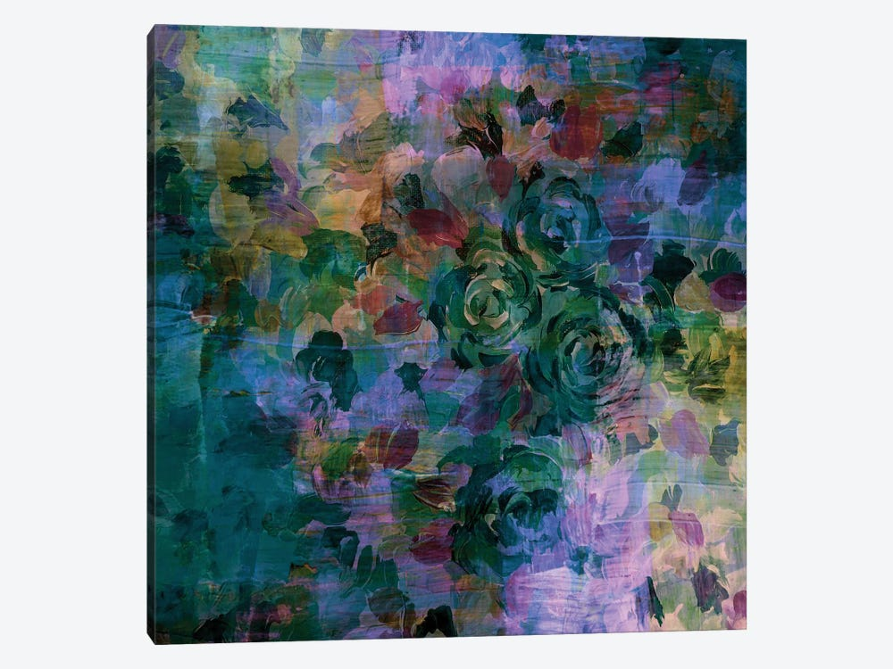 Through Rose-Colored Glasses II by Julia Di Sano 1-piece Canvas Artwork