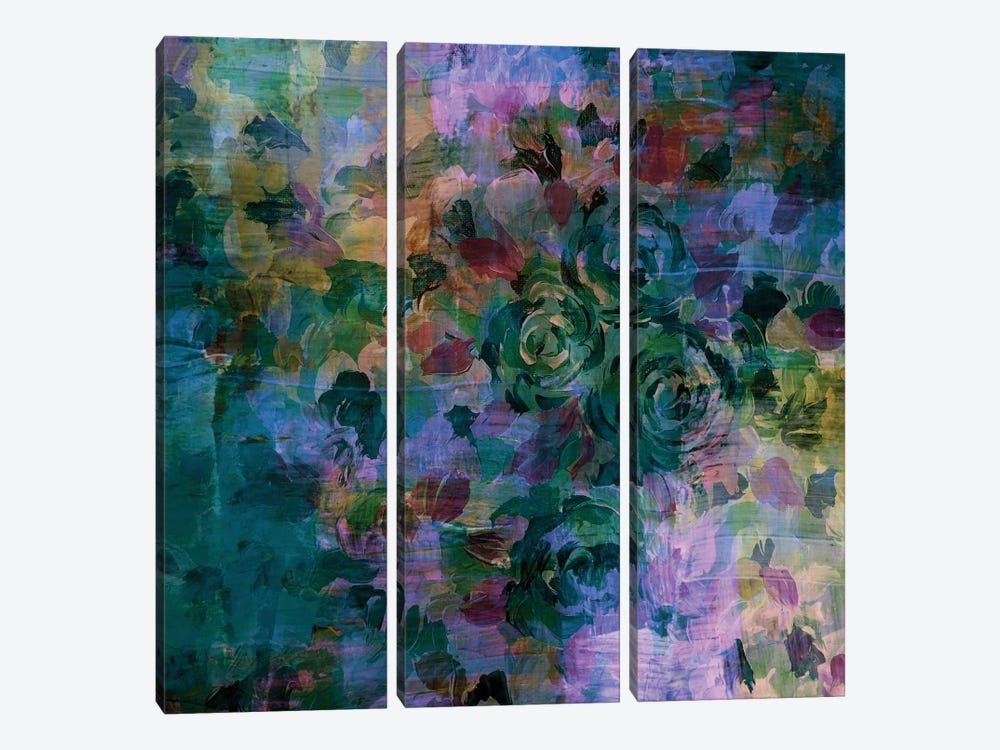 Through Rose-Colored Glasses II by Julia Di Sano 3-piece Canvas Art