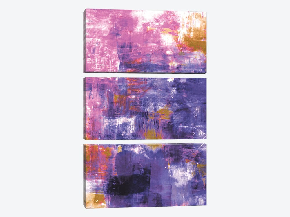 Off The Grid X by Julia Di Sano 3-piece Canvas Wall Art