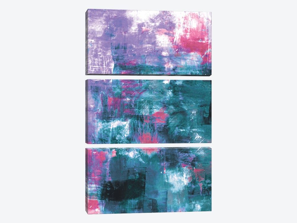 Off The Grid XI by Julia Di Sano 3-piece Canvas Print