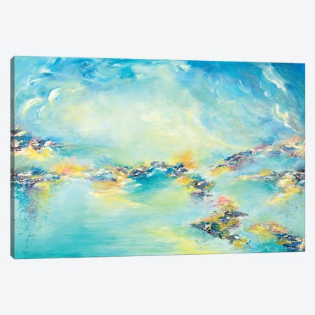Sea To Sky Canvas Print #JDS147} by Julia Di Sano Canvas Wall Art