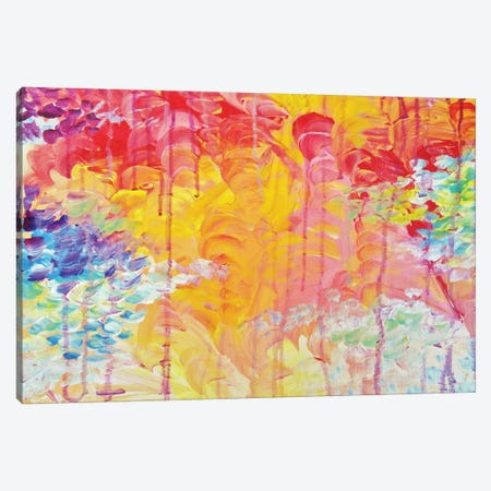 Sun Showers Canvas Print #JDS148} by Julia Di Sano Canvas Art Print