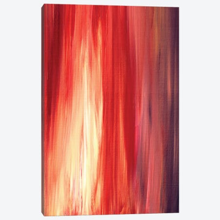 Irradiated - Red Canvas Print #JDS15} by Julia Di Sano Canvas Wall Art