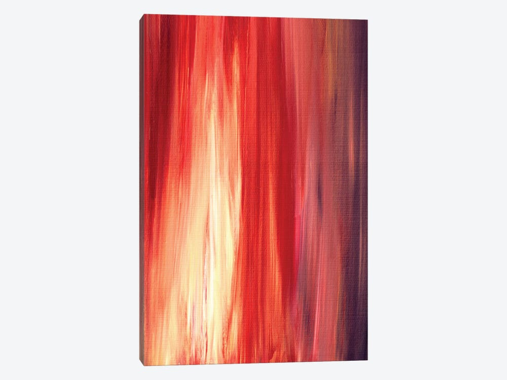 Irradiated - Red by Julia Di Sano 1-piece Canvas Wall Art