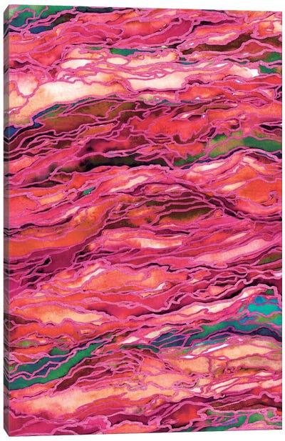 Marble Idea! - Miami Heat Canvas Print #JDS16