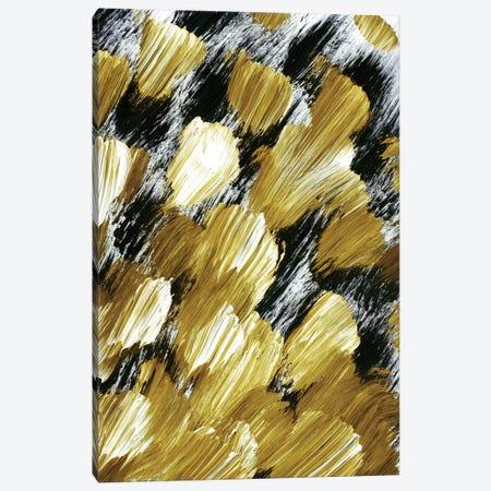 Panache, Golden Ochre Yellow Canvas Print #JDS176} by Julia Di Sano Canvas Art Print
