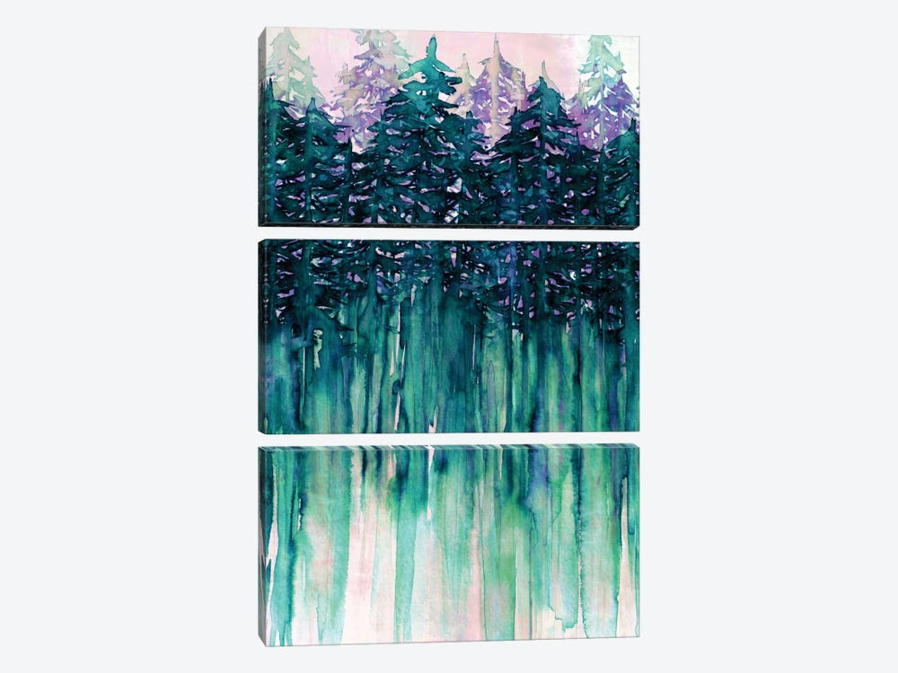 Northwest Vibes II by Julia Di Sano 3-piece Canvas Art