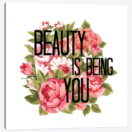 Beauty Is Being You I Canvas Print #JDS199} by Julia Di Sano Canvas Art