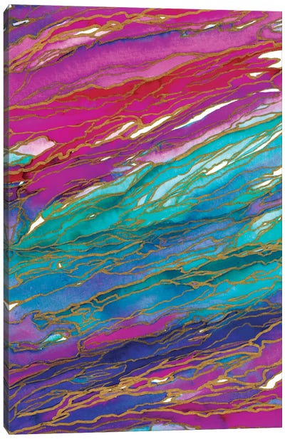 Agate Magic - Miami Summer Canvas Art Print