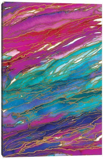 Agate Magic - Miami Summer Canvas Art Print