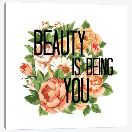 Beauty Is Being You II Canvas Print #JDS200} by Julia Di Sano Canvas Art