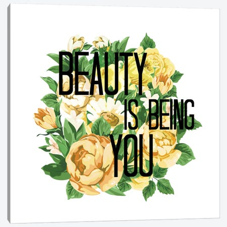 Beauty Is Being You III Canvas Print #JDS201} by Julia Di Sano Canvas Art