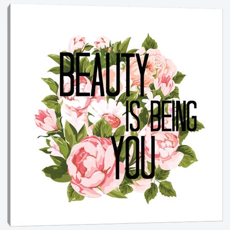 Beauty Is Being You IV Canvas Print #JDS202} by Julia Di Sano Canvas Wall Art