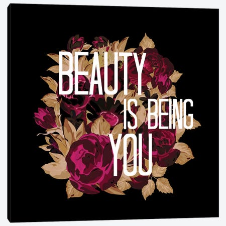 Beauty Is Being You V Canvas Print #JDS203} by Julia Di Sano Canvas Art
