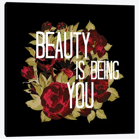 Beauty Is Being You VI Canvas Print #JDS204} by Julia Di Sano Canvas Print