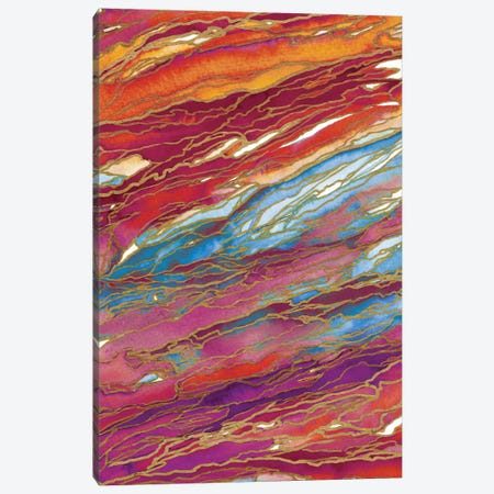 Agate Magic - Autumn Dust Canvas Print #JDS21} by Julia Di Sano Canvas Artwork