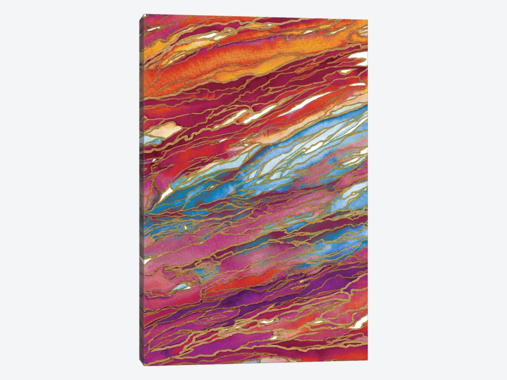Agate Magic - Autumn Dust 1-piece Canvas Art Print