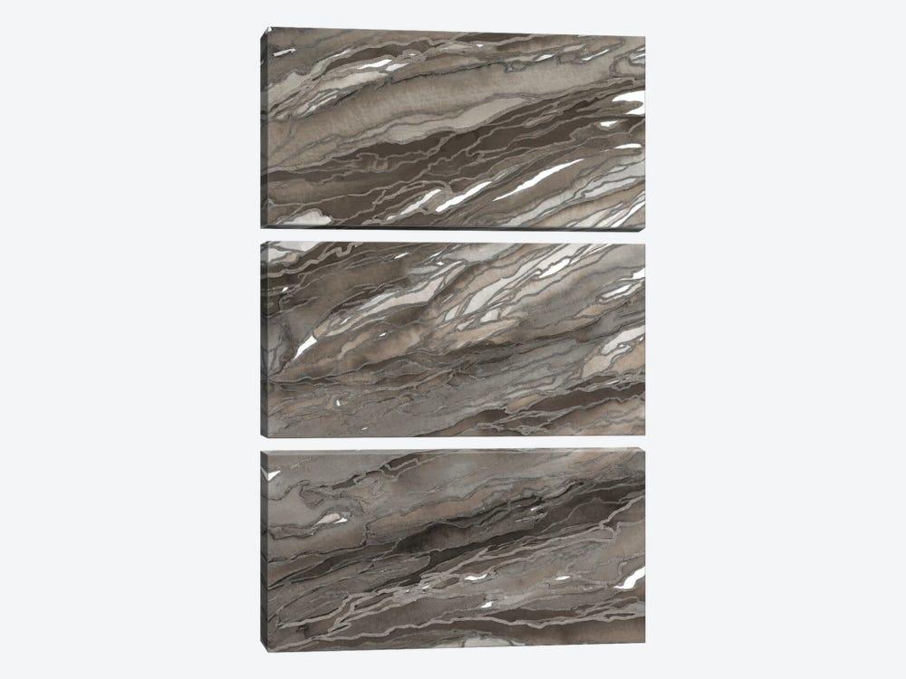 Agate Magic - Rustic Earth by Julia Di Sano 3-piece Canvas Art Print