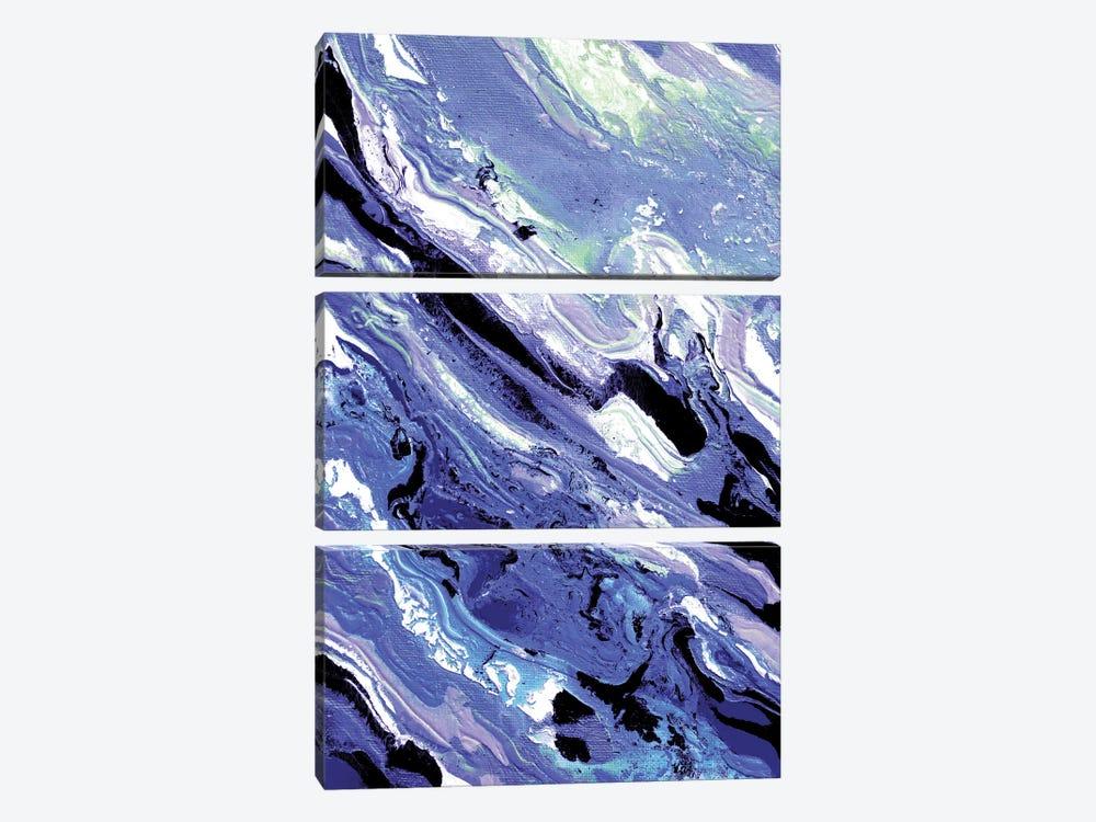 Color Avalanche III by Julia Di Sano 3-piece Canvas Wall Art