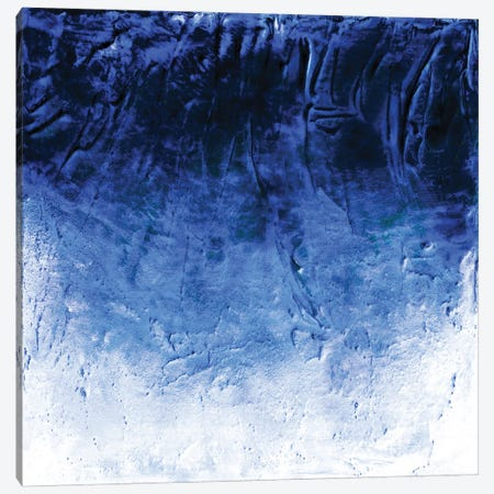Beneath The Veil I, Blue Inverted Bold Canvas Print #JDS253} by Julia Di Sano Canvas Art Print