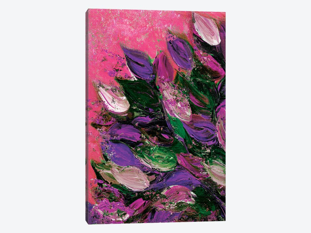 Blooming Beautiful IV by Julia Di Sano 1-piece Canvas Artwork