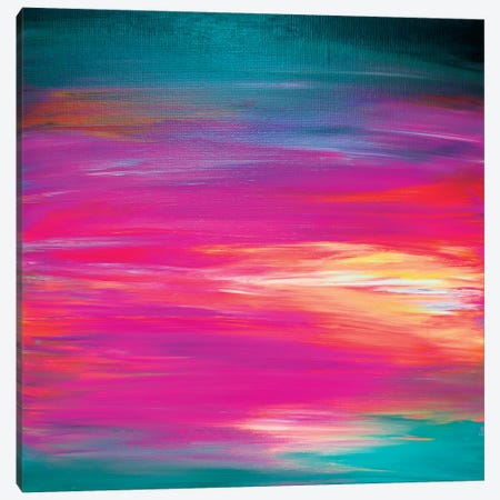 Bright Horizons II Canvas Print #JDS29} by Julia Di Sano Canvas Artwork