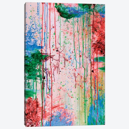 Cry Me A River Canvas Print #JDS37} by Julia Di Sano Canvas Art