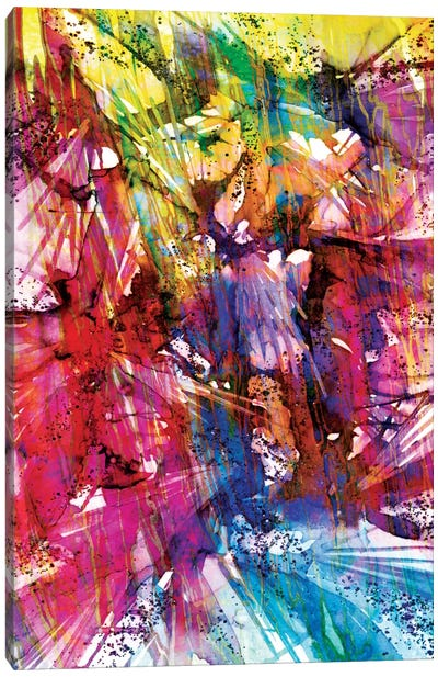 Birds Of Prey - Sunshine Splash I Canvas Print #JDS3