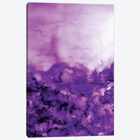 Into Eternity - Purple Canvas Print #JDS49} by Julia Di Sano Canvas Wall Art