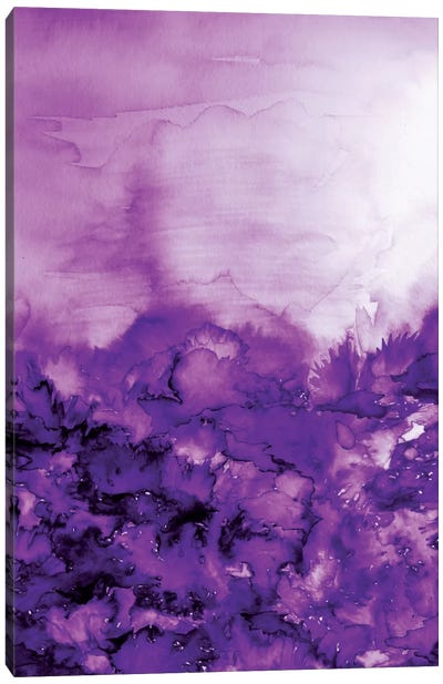 Into Eternity - Purple Canvas Art Print