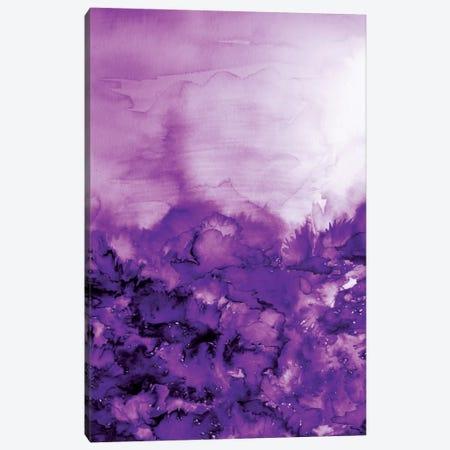 Into Eternity - Purple Canvas Print #JDS49} by Julia Di Sano Canvas Wall Art