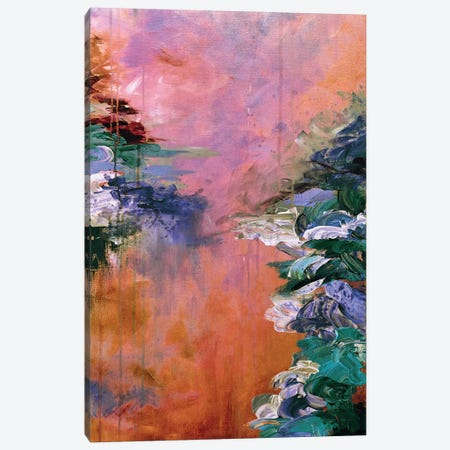 Lakefront Escape I Canvas Print #JDS53} by Julia Di Sano Canvas Print