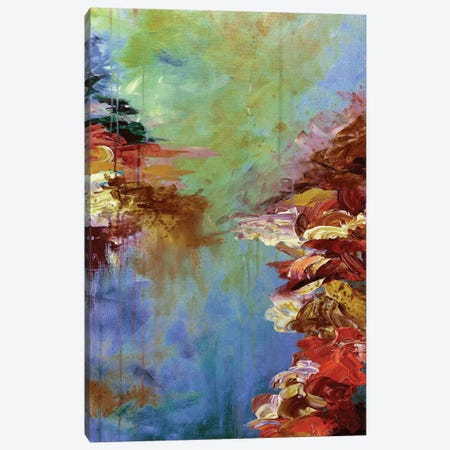 Lakefront Escape III Canvas Print #JDS55} by Julia Di Sano Canvas Wall Art