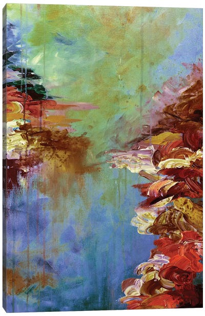 Lakefront Escape III Canvas Art Print